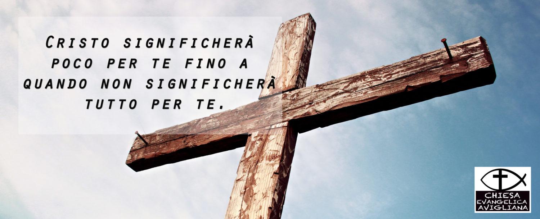 Gesù è la via, la verità e la vita.